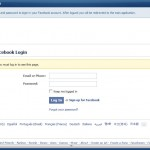 FB Leads Extractor - Login